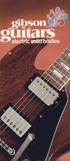 1972 Gibson electric solid bodies catalog