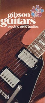 1972 Gibson electric solid bodies