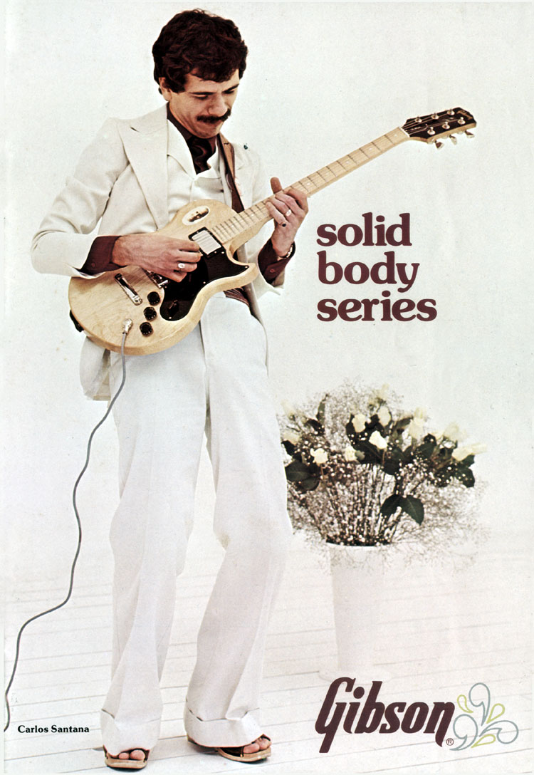 1968 Gibson solid body catalogue front cover