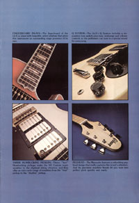 1975 Gibson solid body catalogue page 3
