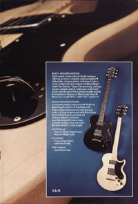 1975 Gibson solid body catalogue page 7