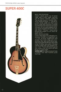 1980 Gibson guitar, bass and banjo catalogue - page 12