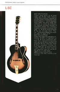 1980 Gibson guitar, bass and banjo catalogue - page 13