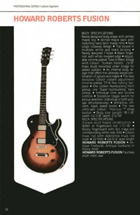 1980 Gibson guitar, bass and banjo catalogue - page 16