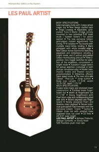 1980 Gibson guitar, bass and banjo catalogue - page 19