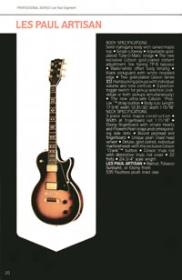 1980 Gibson guitar, bass and banjo catalogue - page 20