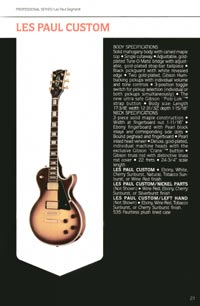 1980 Gibson guitar, bass and banjo catalogue - page 21