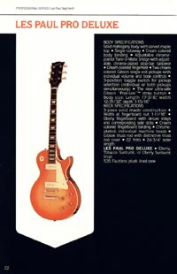 1980 Gibson guitar, bass and banjo catalogue - page 22