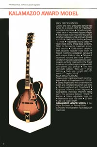 1980 Gibson guitar, bass and banjo catalogue - page 6