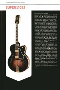 1980 Gibson guitar, bass and banjo catalogue - page 7