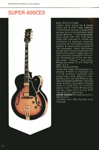 1980 Gibson guitar, bass and banjo catalogue - page 8