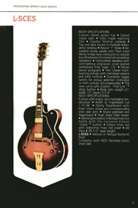 1980 Gibson guitar, bass and banjo catalogue - page 9