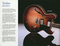 1983 Gibson guitar and bass catalogue page 12