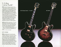 1983 Gibson guitar and bass catalogue page 14