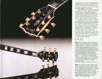 1983 Gibson guitar and bass catalogue page 17