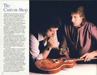 1983 Gibson guitar and bass catalogue page 26