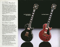 1983 Gibson guitar and bass catalogue page 8