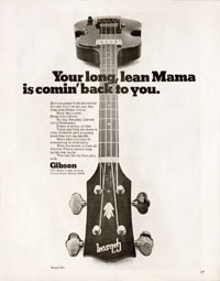 Gibson EB-1 - Your Long Lean Mother Is Comin