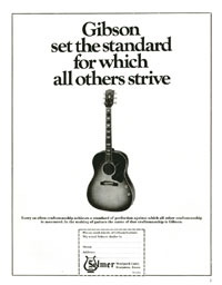 Gibson J-160E - Gibson Set the Standard for Which All Others Strive