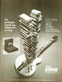Gibson L5-S - As pickups stack up, Gibson
