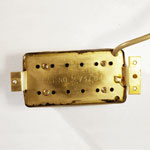 Gibson Magna II humbucker - reverse view showing baseplate and patent number