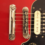 Gibson top-adjust bridge in situ