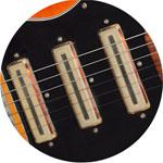 Vintage Gibson guitar pickups