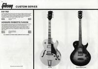 1981 Gibson (Rosetti, UK) catalogue page 14