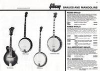 1981 Gibson (Rosetti, UK) catalogue page 19