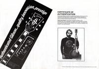 1981 Gibson (Rosetti, UK) catalogue page 20