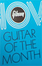 1972 Gibson guitar of the month showcase brochures