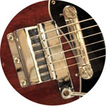 Vintage Gibson guitar vibrolas