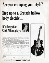 Gretsch Hollow Body Electrics - Are You Cramping Your Syle