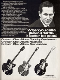 Gretsch Chet Atkins Hollowbody / Nashville PX 6120 - When you call a guitar a name it better be good