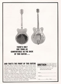 Gretsch Chet Atkins Hollowbody / Nashville PX 6120 - Theres only one thing as comfortable as the back of this guitar