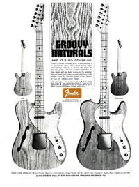 Fender Telecaster - Groovy Naturals