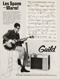 Guild AcoustiLectric - Les Spann - Warm