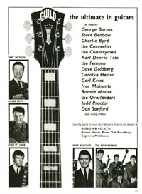 Guild Guitars - 1964
