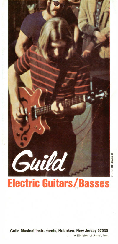 1969 Guild catalogue front cover