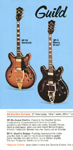 1969 Guild catalogue page 2