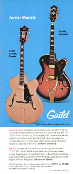 1970 Guild catalogue page 6