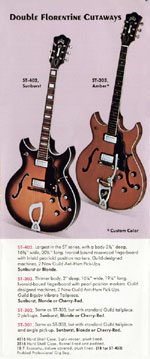 1970 Guild catalogue page 9