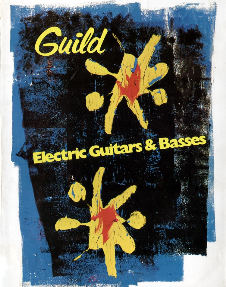 1975 Guild catalogue front cover