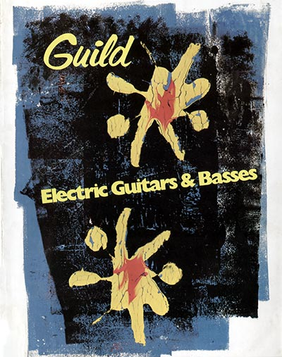 1975 Guild electric guitar catalogue