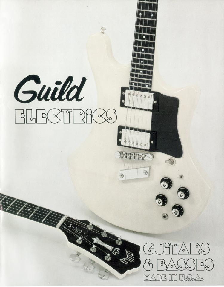 1978 Guild catalogue front cover