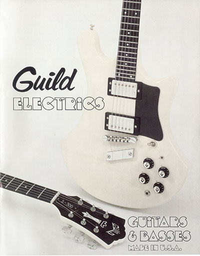 1978 Guild electric guitar catalogue