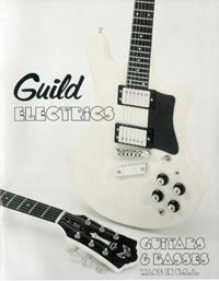 1978 Guild electrics catalogue