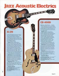 1978 Guild catalogue page 5