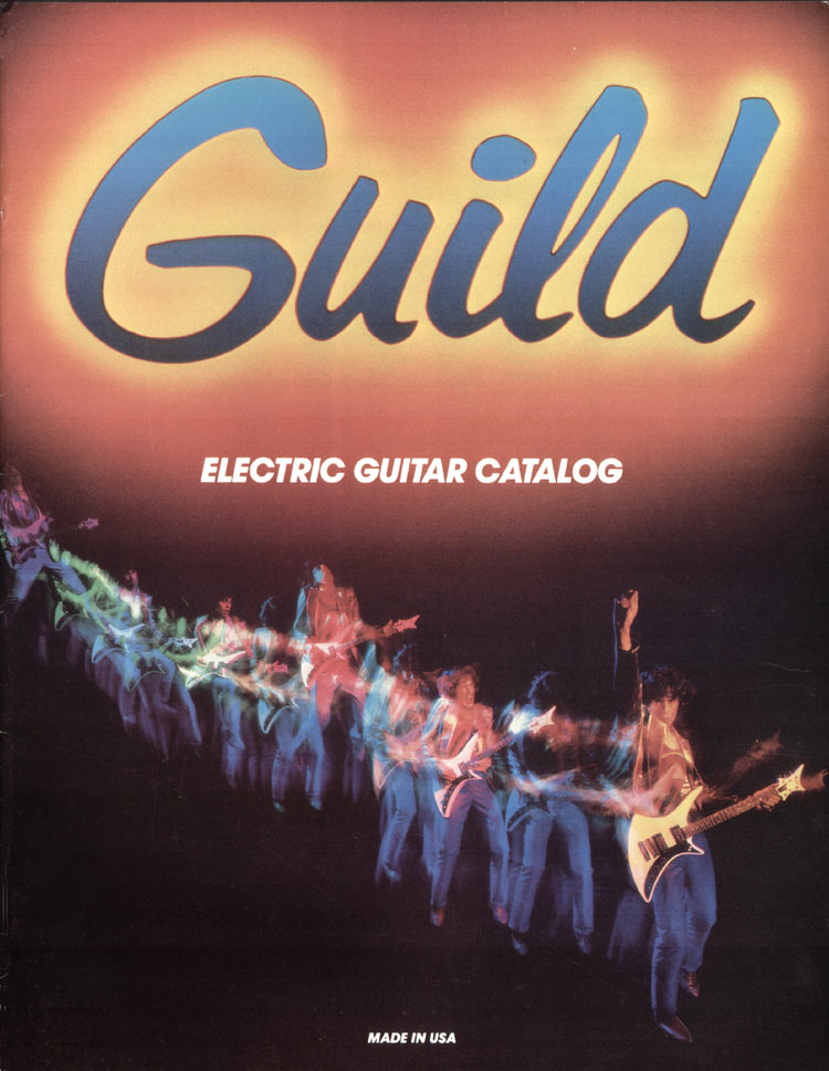 1982 Guild catalogue front cover