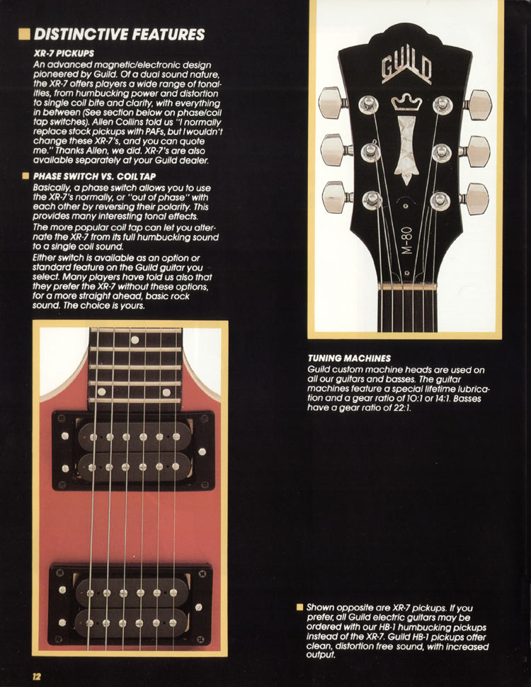 1982 Guild catalogue page 14